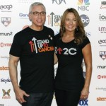 TV personality Drew Pinsky and his wife Susan arrive for the Stand Up To Cancer telethon in Los Angeles, California