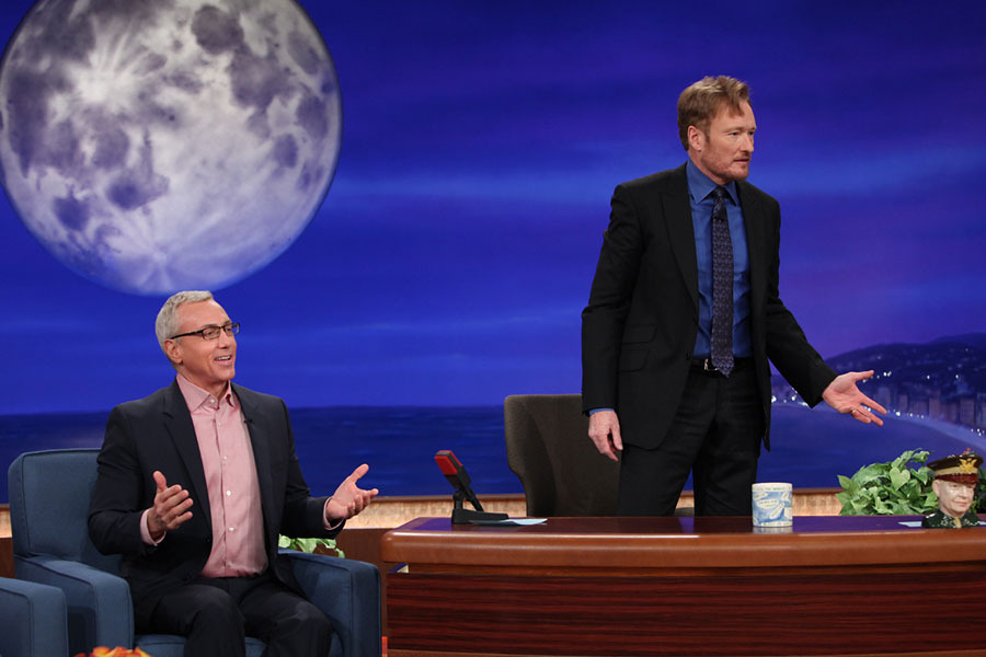 Dr. Drew And Conan Get Rowdy