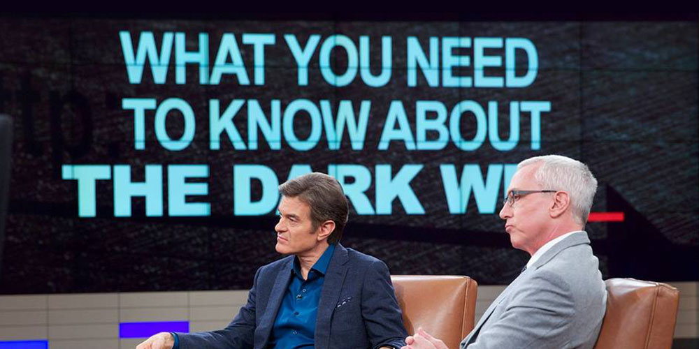 Watch Dr. Drew on Dr. Oz Discussing The Dark Web!