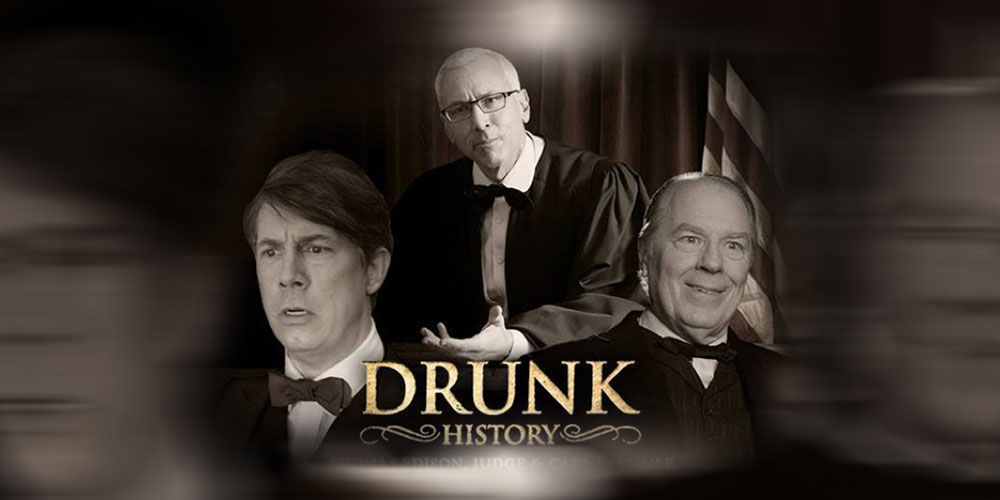 Watch Dr. Drew On Drunk History!