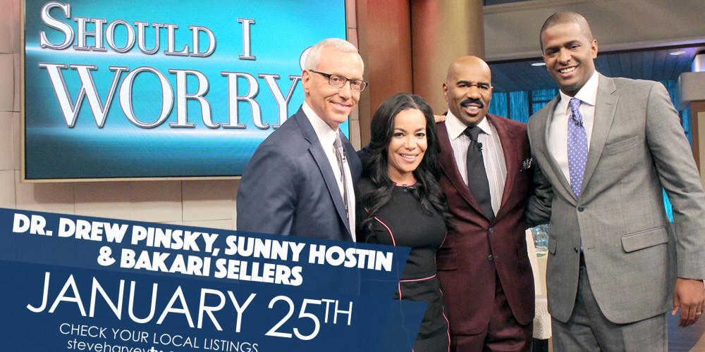 Watch Dr. Drew on Steve Harvey!