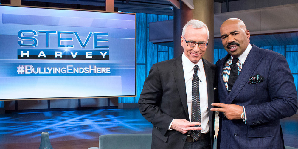 Dr. Drew & Steve Harvey Tackle Teen Bullying