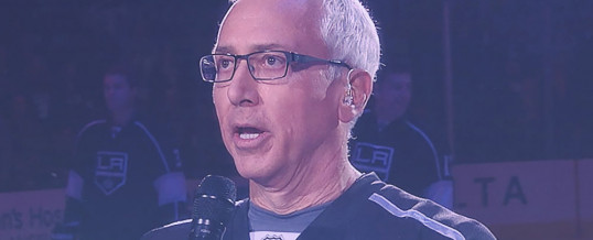 Dr. Drew sings the National Anthem at L.A. Kings Game