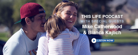 Mike Catherwood and Bianca Kajlich On This Life Podcast!