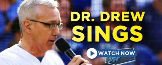 Dr. Drew Sings The National Anthem!