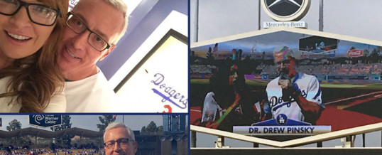 Dr. Drew Sings The National Anthem at Dodger Stadium