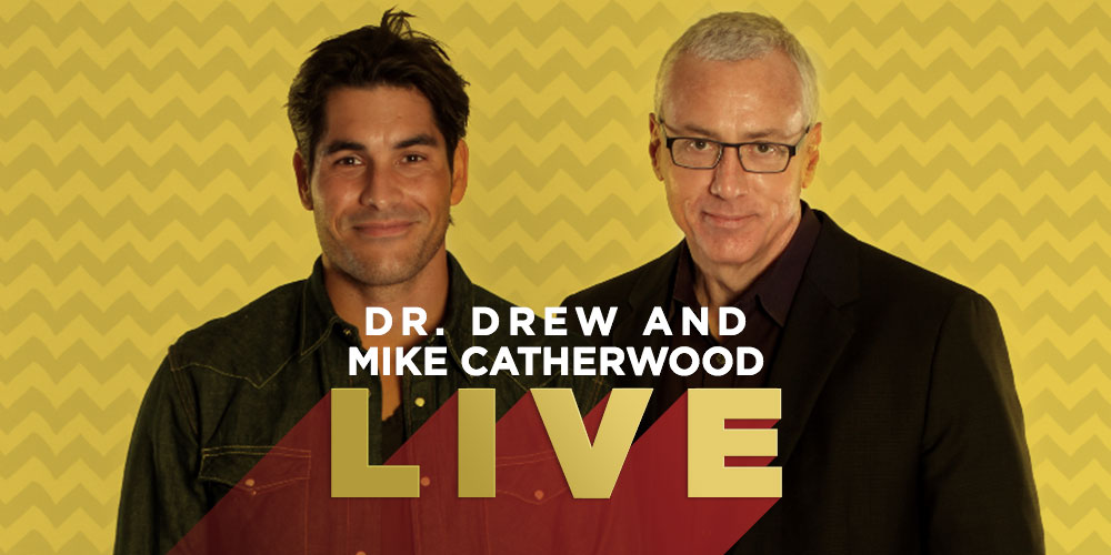 DECEMBER!  Dr. Drew & Mike Catherwood Plus Emily Moorse LIVE at The Ice House!