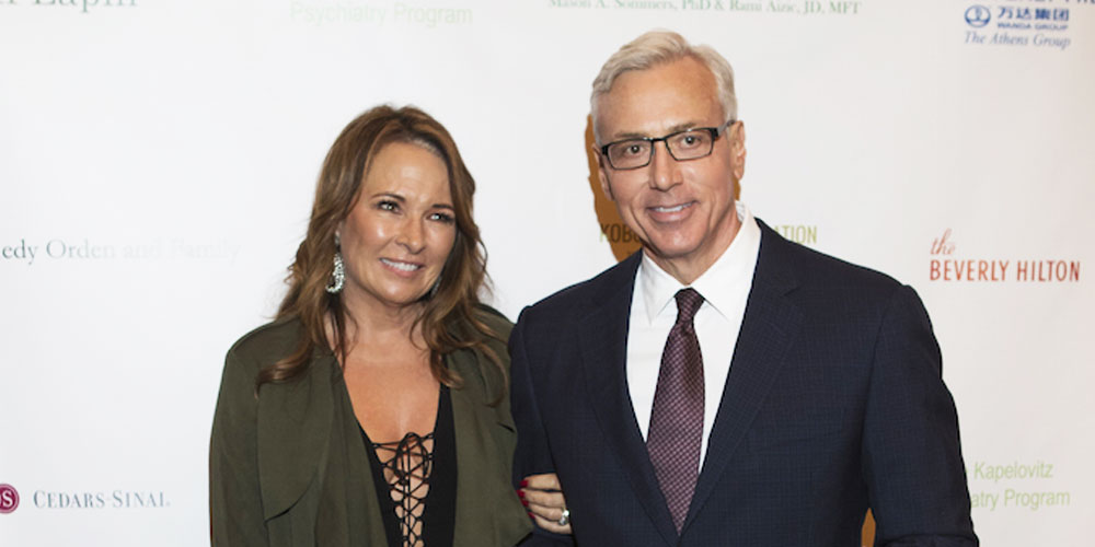 Dr. Drew Honored For Work In Mental Health Community At Maple Ball