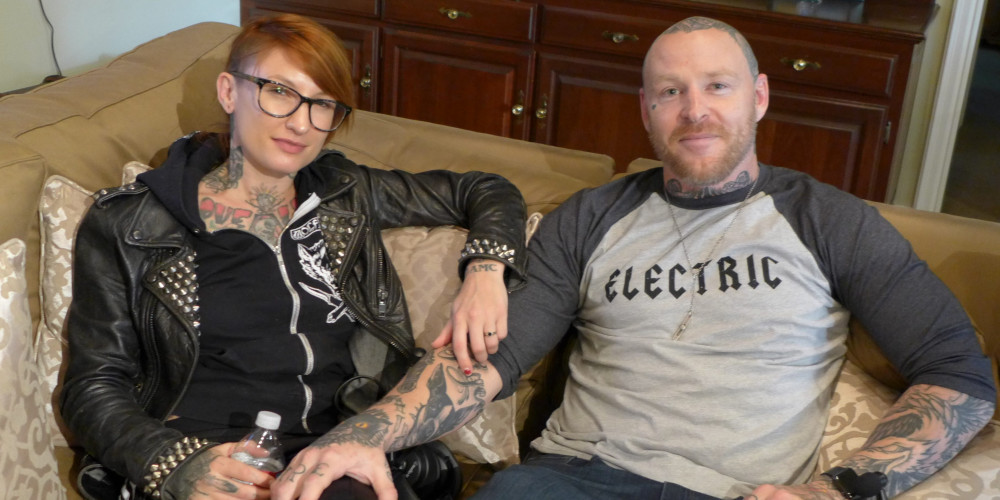 Jason Ellis and Katie Gilbert