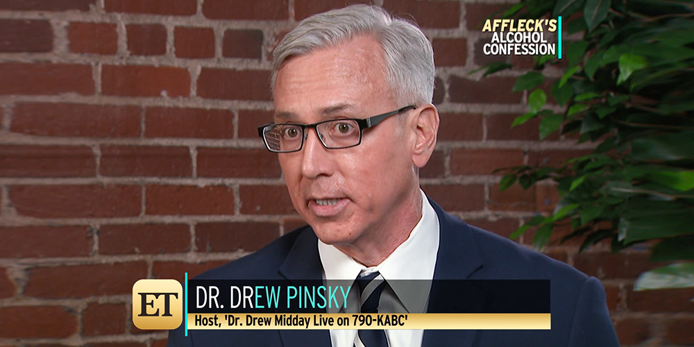 Ben Affleck & Sober Coaches: Dr. Drew Discusses On ET!