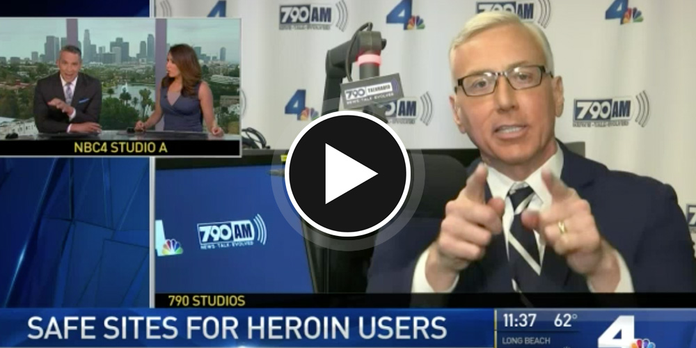 """What's So Wrong"" With Safe Injection Sites for Heroin Users? – Dr. Drew on NBC 4"