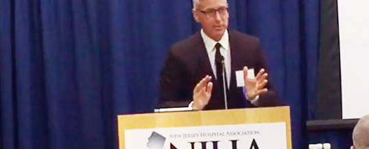 VIDEO: Dr. Drew Speaks At NJHA's Mental Health And Substance Use Disorder Summit