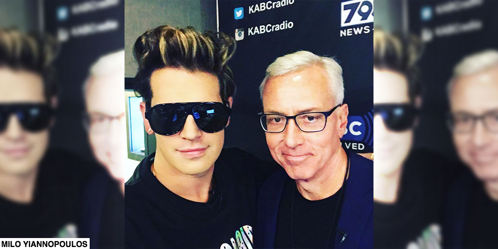 Milo Yiannopoulos Joins Dr. Drew On Midday Live