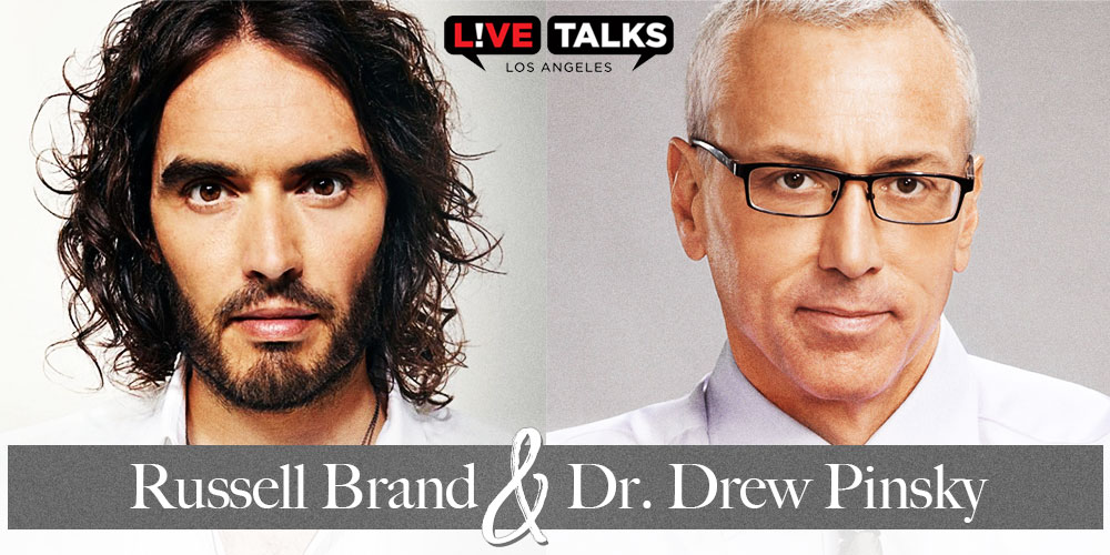 Russell Brand And Dr. Drew LIVE In A Conversation About Addiction & Recovery