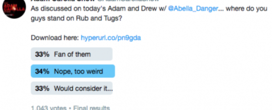 #697: The Pole Poll – The Adam And Drew Show