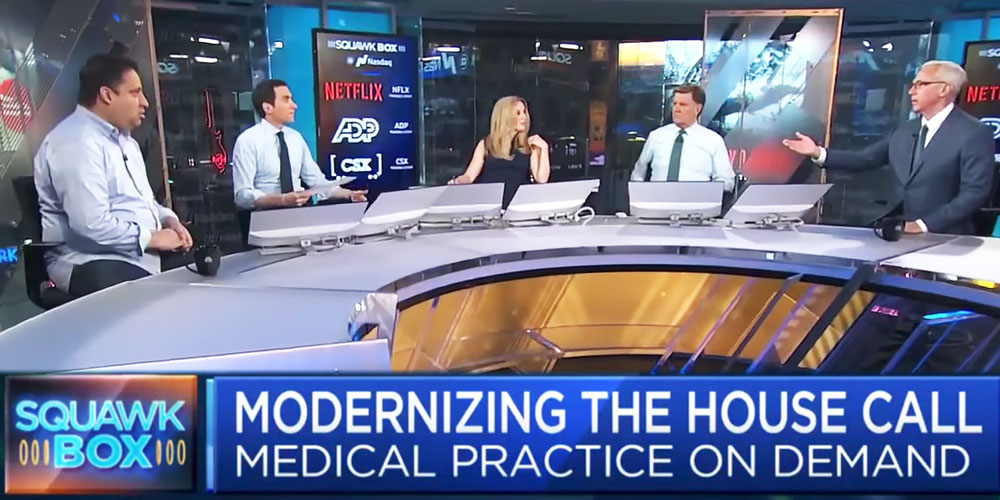 Dr. Drew Joins Heal CEO Nick Desai on CNBC's Squawk Box