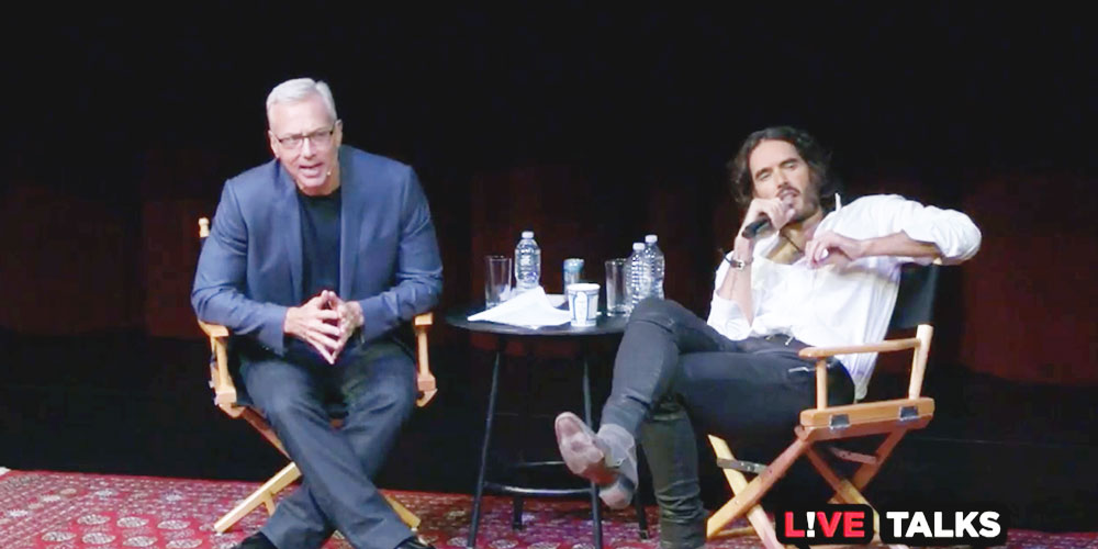 VIDEO: Russell Brand Discusses Recovery With Dr. Drew At Live Talks LA