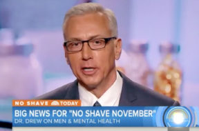 dr-drew-today-show-no-shave-november-2017
