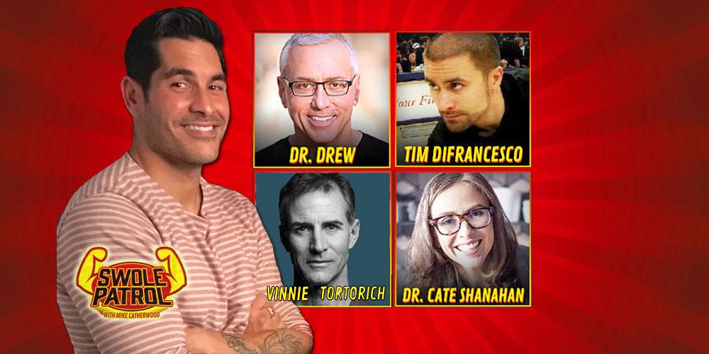 Vinnie Tortorich, Dr. Cate Shanahan, Tim DiFrancesco