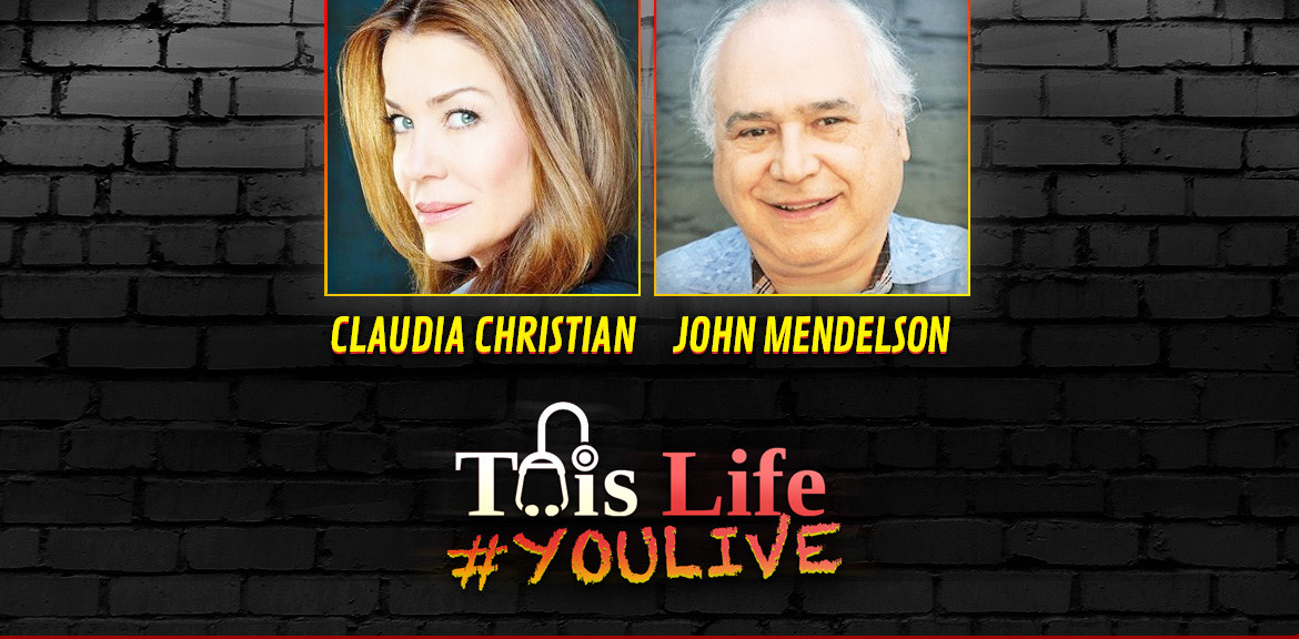 #YOULIVE 129 – Claudia Christian and Dr John Mendelson