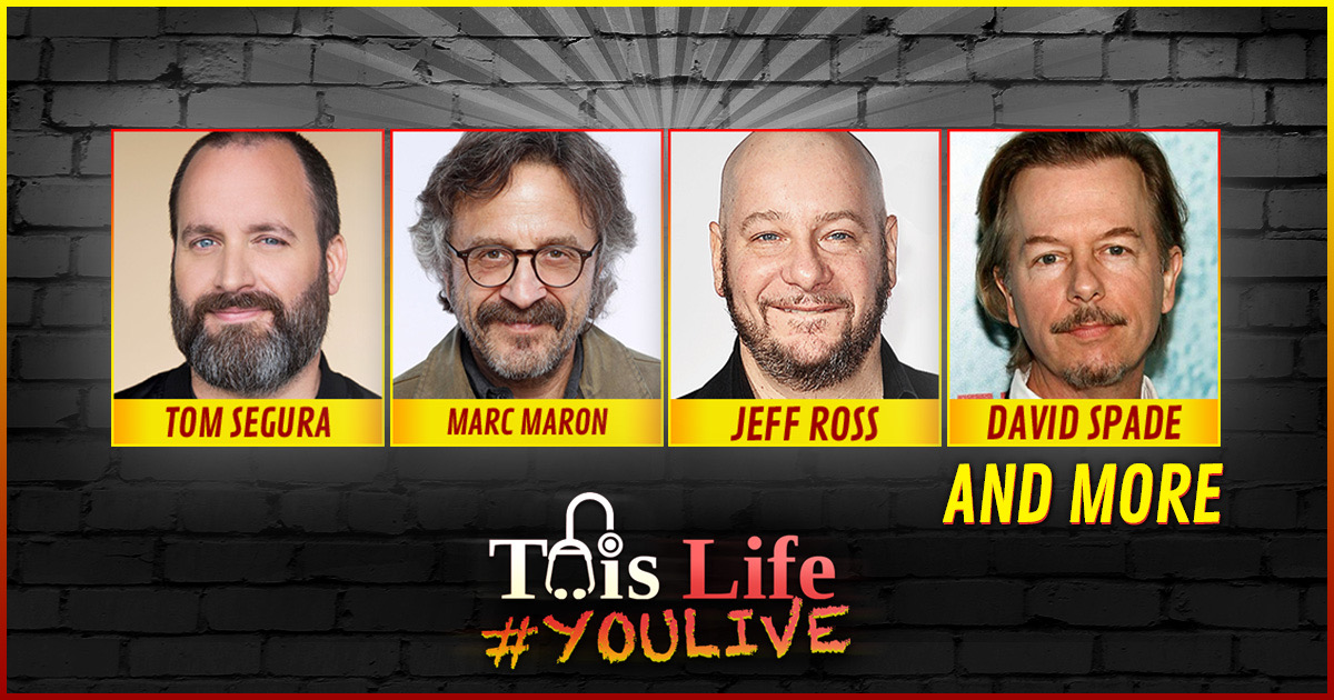 #YOULIVE 166 – Live From The Comedy Store Festival