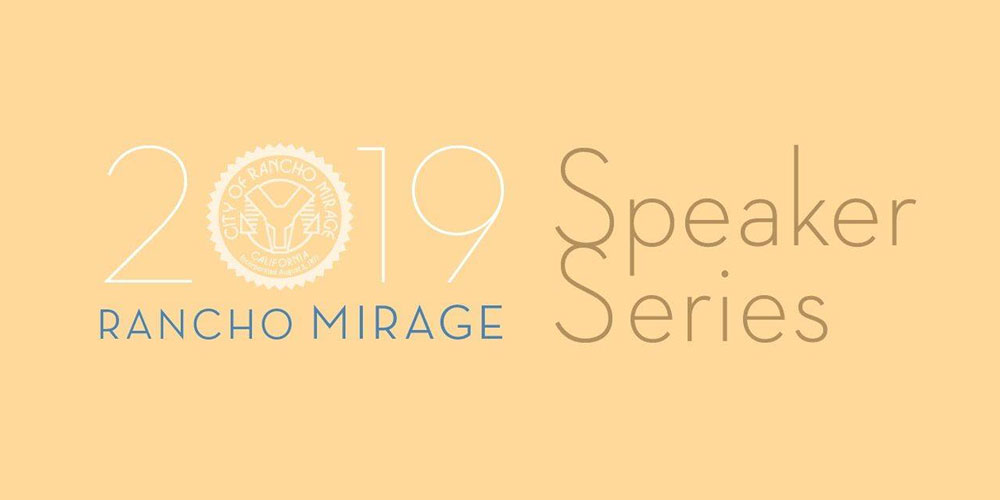 See Dr. Drew LIVE At The Rancho Mirage 2019 Speaker Series