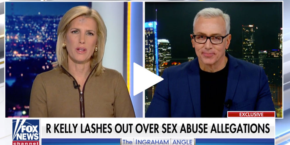 Dr. Drew Discusses R. Kelly and Michael Jackson On Ingraham Angle