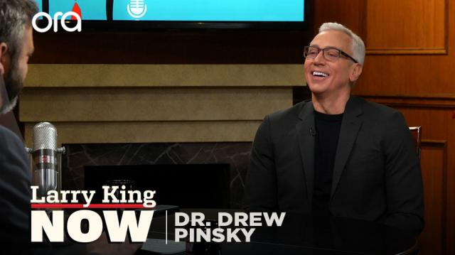 Dr. Drew On Larry King Now: Social Media, Vaccinations, Trump's Mental Health & More