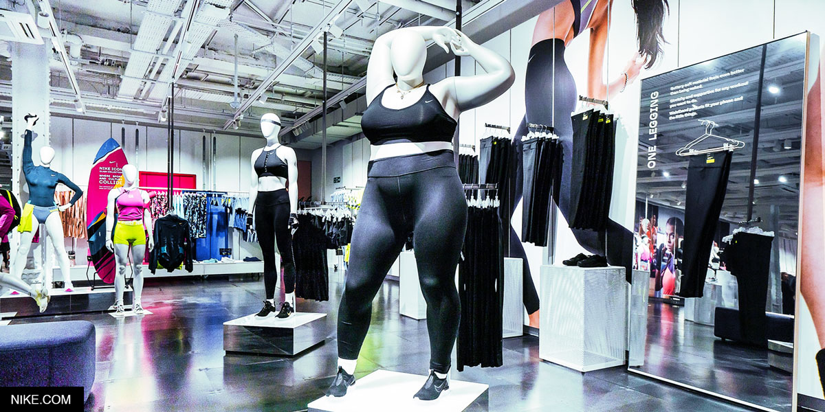 Mannequins Made Real: How Nike's New Mannequins Support Body Diversity In Sports