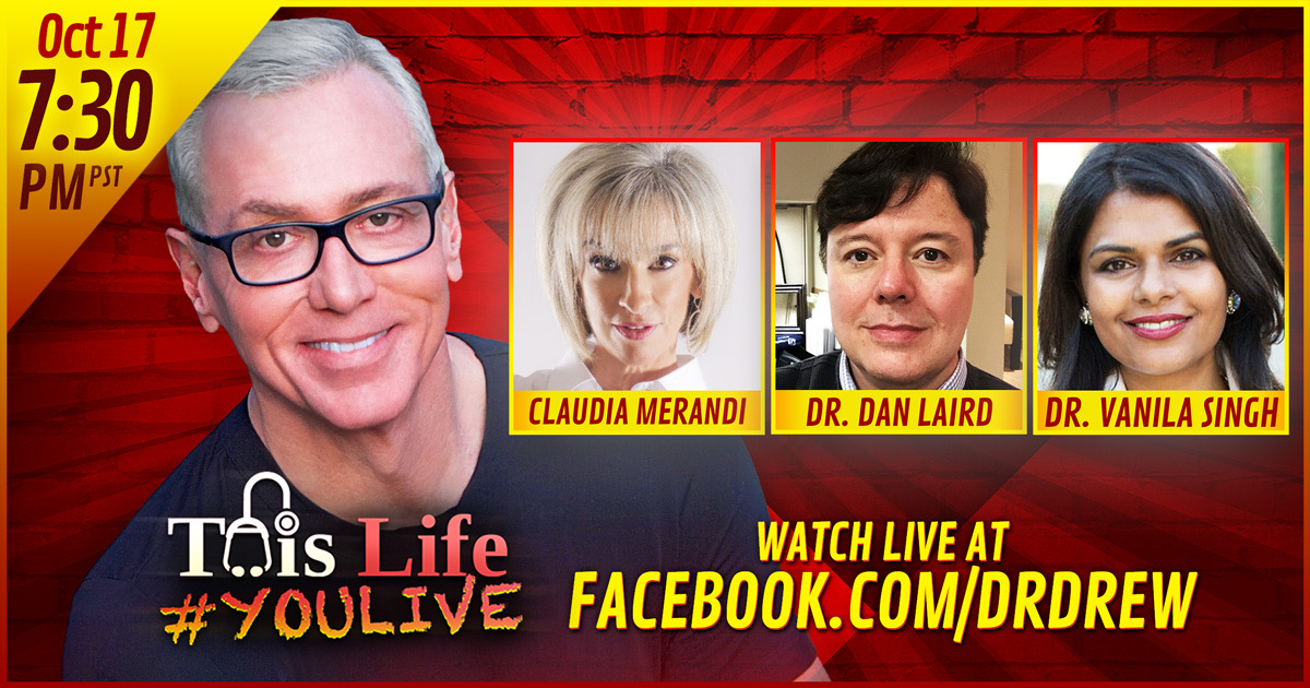 Dr. Drew Addresses Pain Management With Experts LIVE