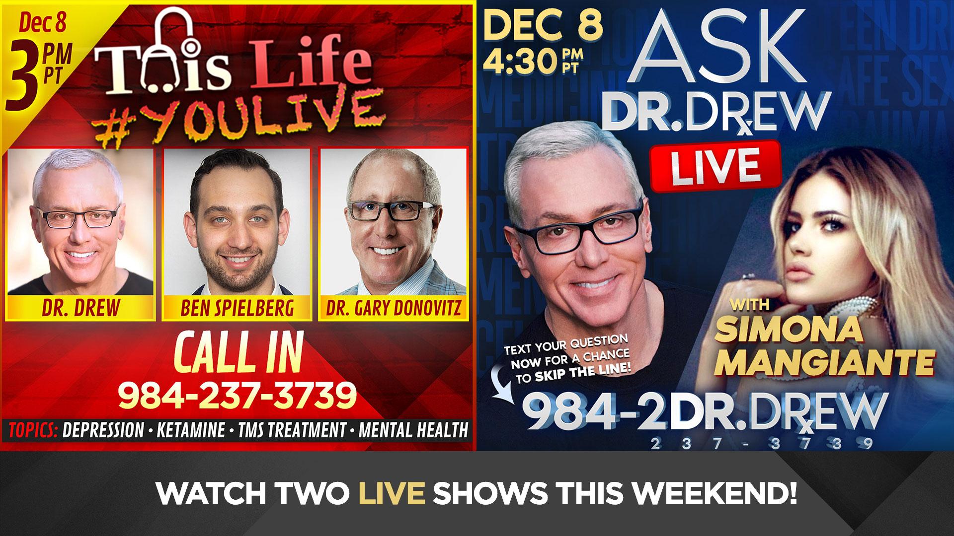 Dec 8: Taking Calls LIVE with Simona Mangiante, Ben Spielberg & Dr. Gary Donovitz