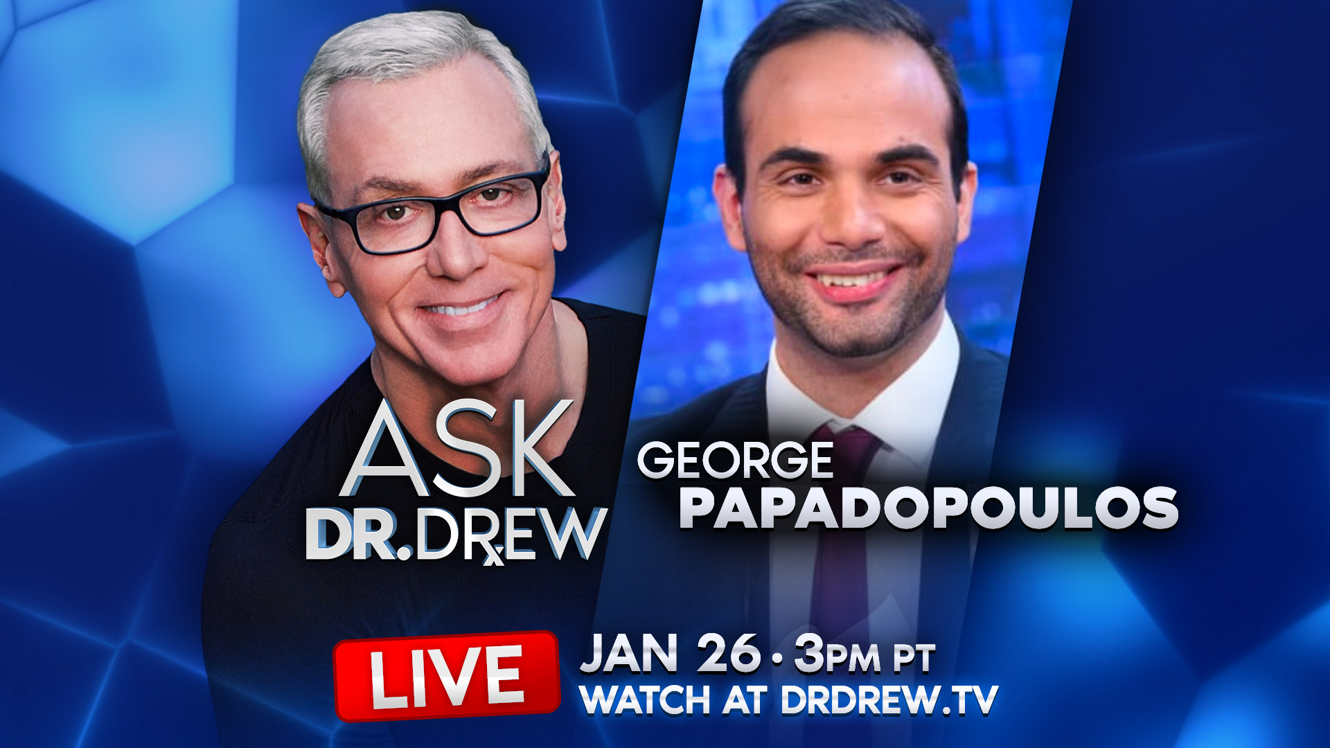 Ask Dr. Drew – George Papadopoulos & Simona Mangiante – Episode 9