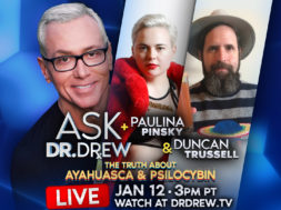 BANNER–Ask-Dr-Drew–WIDE- Paulina and Duncan Trussell V2