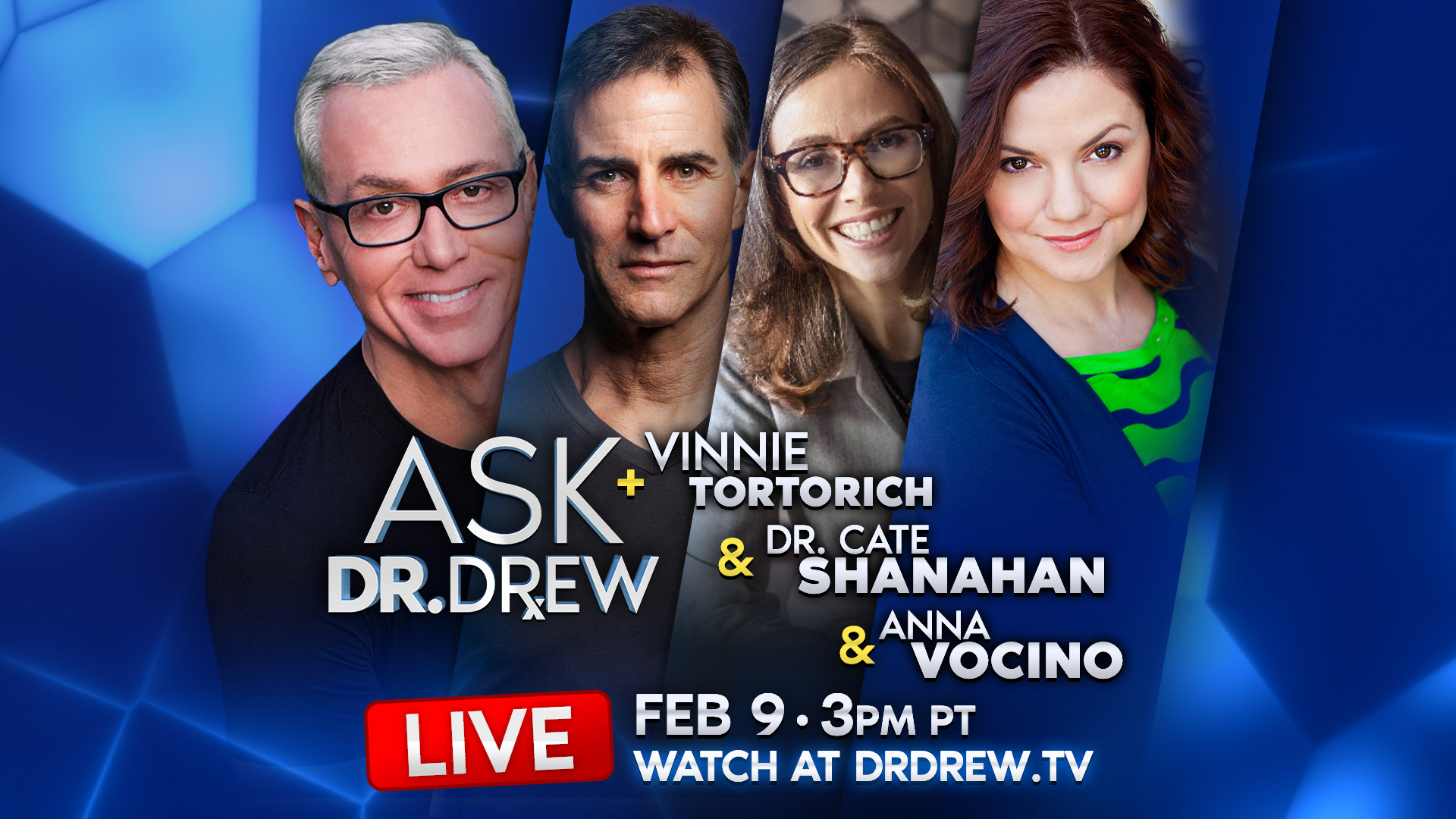 Keto Dream Team: Vinnie Tortorich, Dr. Cate Shanahan & Anna Vocino – Episode 10