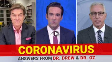 BANNER—Coronavirus—Dr-Oz-Dr-Drew-Elex-Michaelson-Fox-11-LA–Answers-From-Dr-Drew-And-Dr-Oz