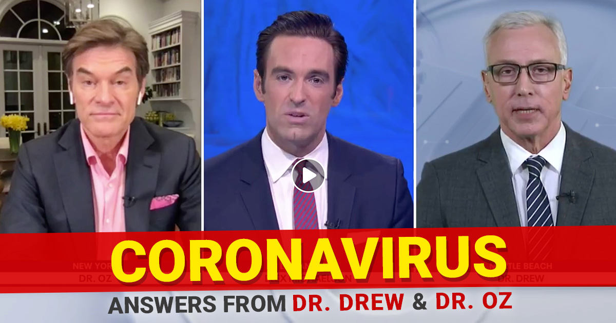 Dr. Oz joins Dr. Drew on Fox 11 Special Coverage: The Coronavirus Crisis 3-11-20