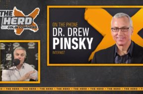 dr drew colin cowherd fox sports radio coronavirus vaccine