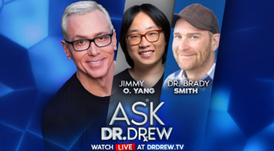 BANNER–Ask-Dr-Drew–WIDE- Jimmy O Yang and Dr Brady Smith