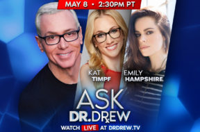BANNER–Ask-Dr-Drew–WIDE- Kat Timpf and Emily Hampshire – May 8 2020