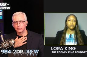 Lora King Speaks On George Floyd #BlackLivesMatter Protests with Dr. Drew Pinsky