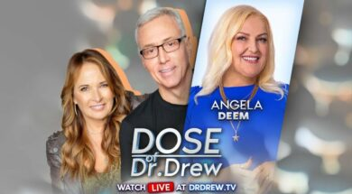 Angela Deem Is LIVE In Dr. Drew's House! His 90