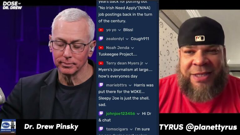 Tyrus Returns To #DoseOfDrDrew! Talking About History And Other Cool Stuff.