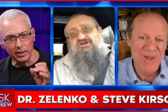 Ask Dr. Drew with Dr. Vladimir Zelenko and Steve Kirsch discussing COVID-19