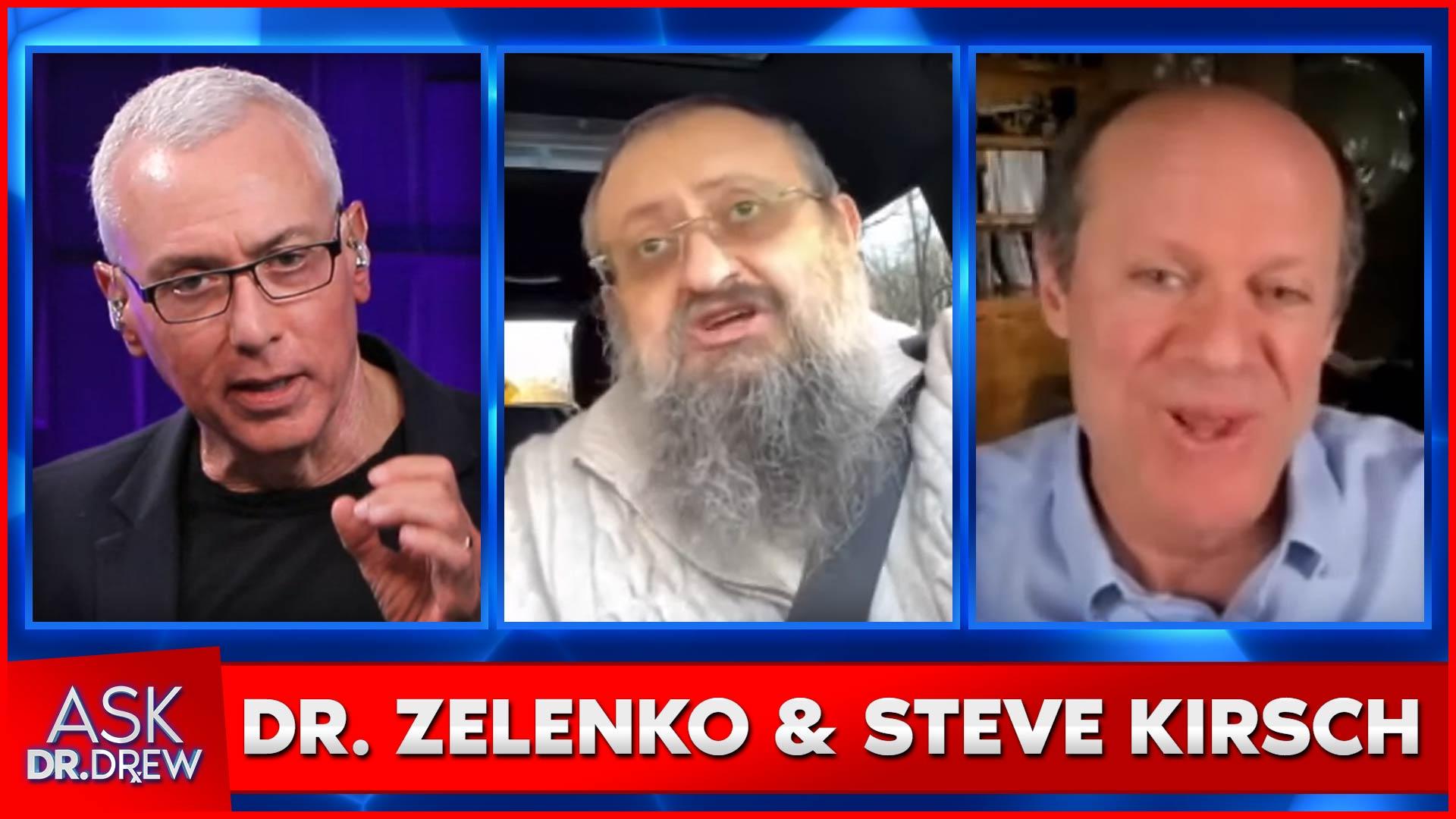 Dr. Vladimir Zelenko & Steve Kirsch Discuss COVID-19, Dr. Fauci, Vaccines & More on Ask Dr. Drew