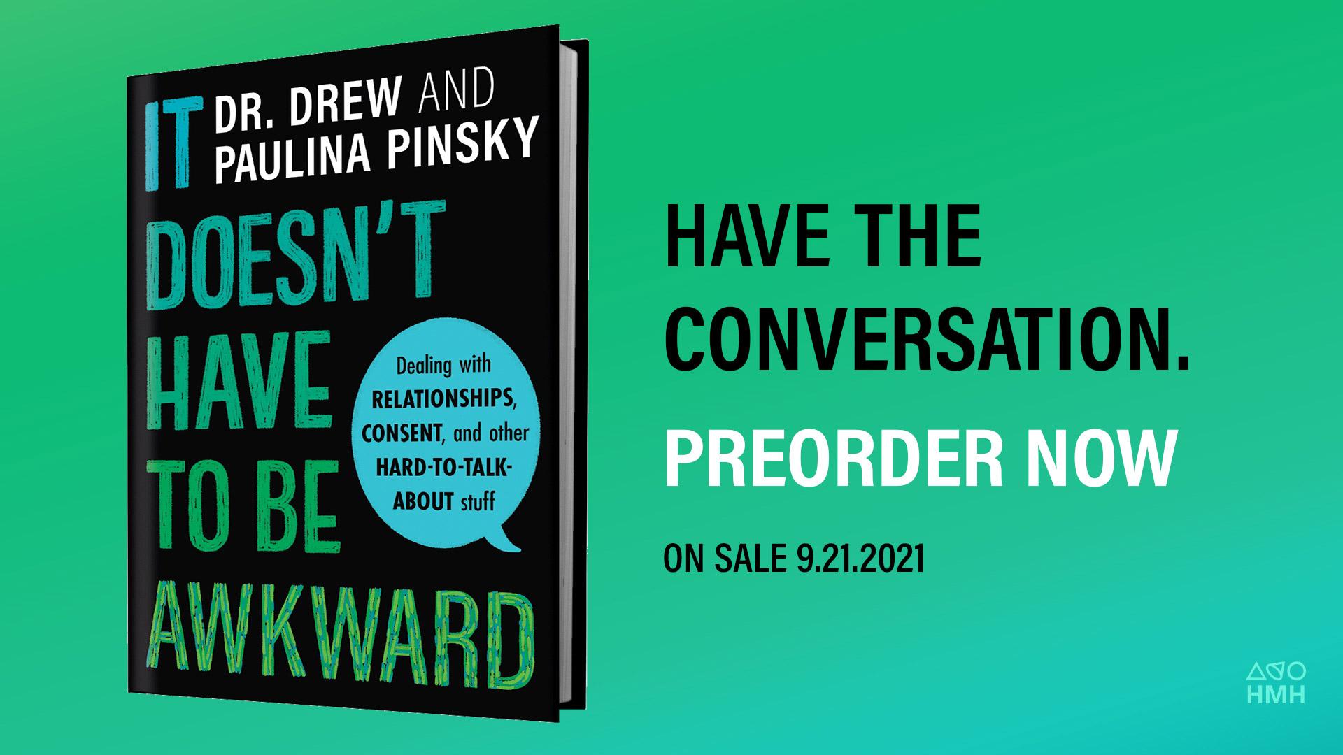 Join Dr. Drew & Paulina Pinsky on TalkShop LIVE on 9/17!
