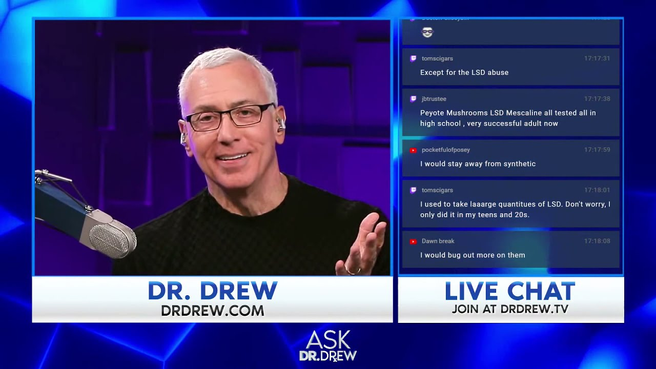 Ayahuasca, Censorship & Vaccine Anxiety: Dr. Drew Answers Caller Questions – Ask Dr. Drew – Episode 40