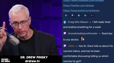 Dose Of Dr. Drew Live Taking Questions On Clubhouse! 8-5-21