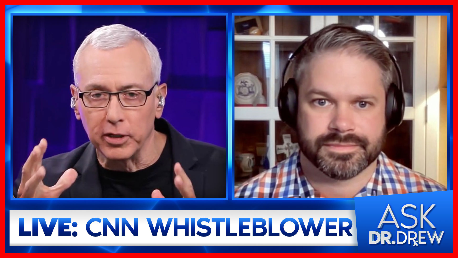 Cary Poarch – CNN Leaker at Project Veritas – LIVE on Ask Dr. Drew