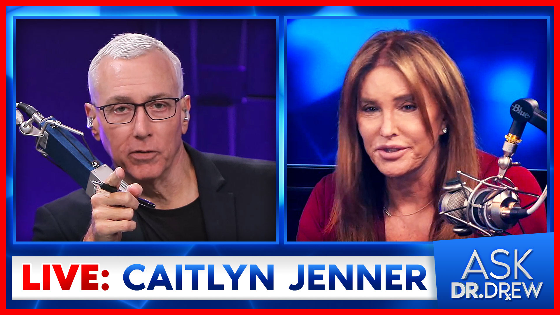 Caitlyn Jenner – Candidate for CA Governor – LIVE on Ask Dr. Drew [August 23, 2021]