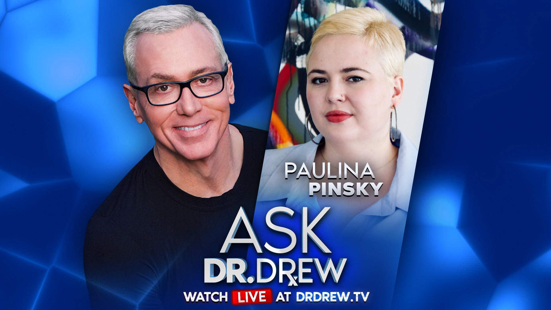 """Paulina Pinsky – Coauthor of """"It Doesn't Have To Be Awkward"""" – on Ask Dr. Drew"""